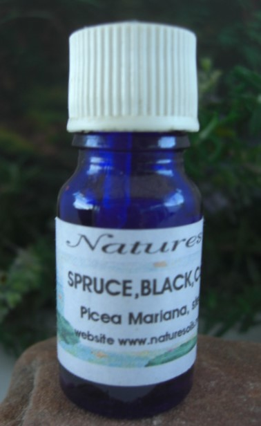 Nature's Oils Spruce, Black